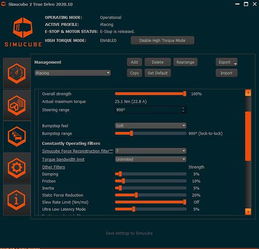 sc2 iracing settings
