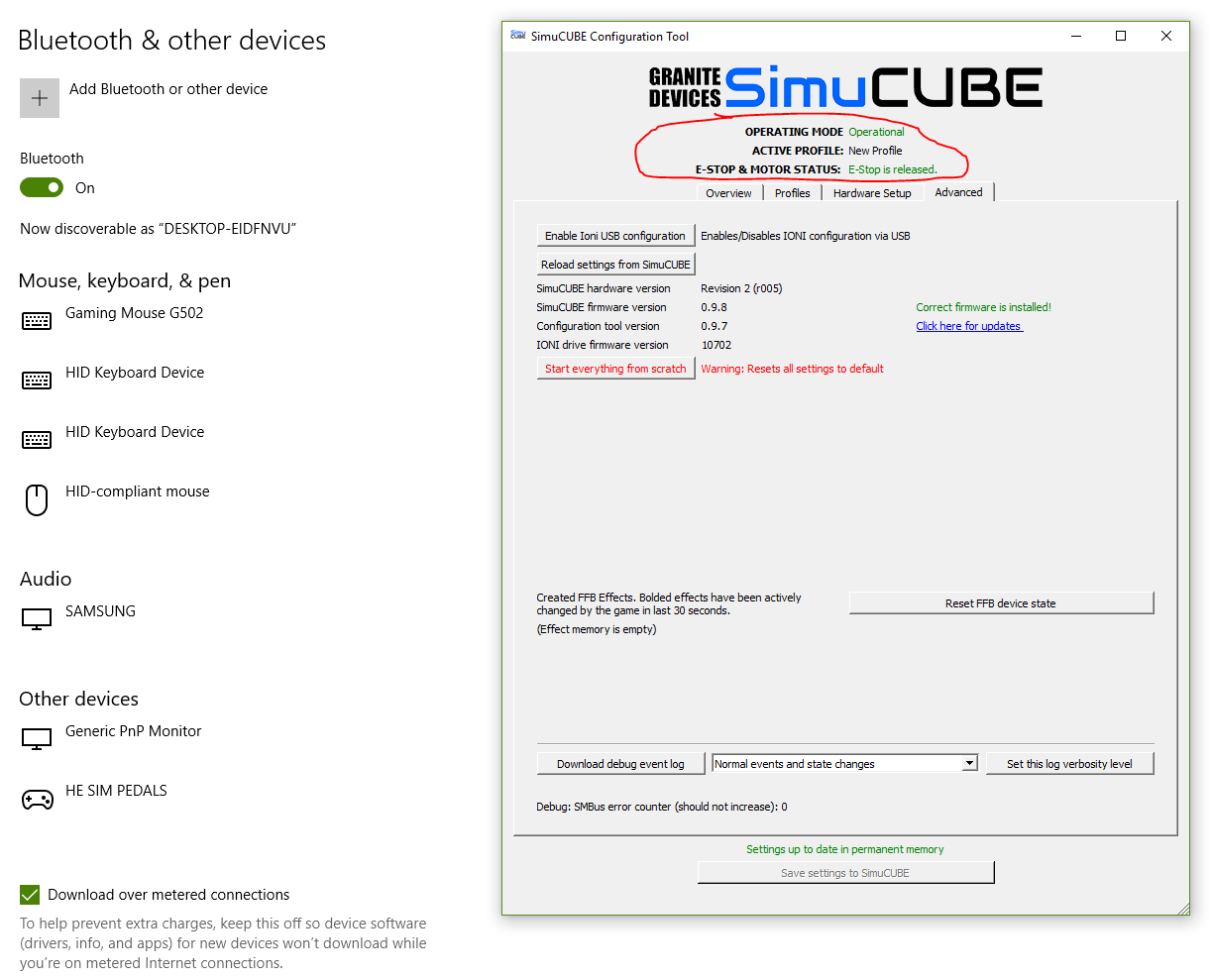 AsRock USB problem with my osw wheel [SOLVED] - Simucube - Granite